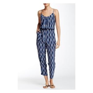 Tracy Reese Cami Jumpsuit Indigo Cloud NWT